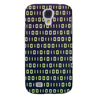 Cajas de la galaxia S4 del código binario
