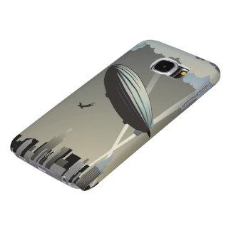 Cajas de la galaxia S6 de Samsung del horizonte Fundas Samsung Galaxy S6