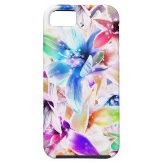 Cajas de la mota de las orquídeas 1 funda para iPhone SE/5/5s