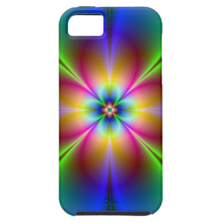 Cajas de la mota del arte 8 del fractal iPhone 5 cárcasas