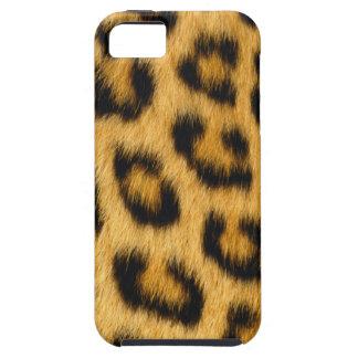 Cajas de la mota del leopardo 1 funda para iPhone SE/5/5s
