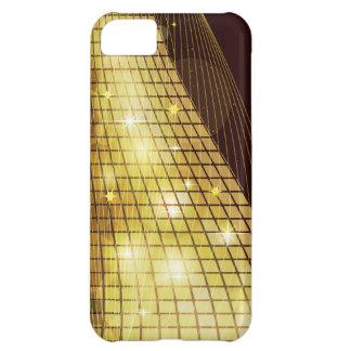 Cajas de la mota del mosaico 4 funda para iPhone 5C