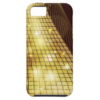 Cajas de la mota del mosaico 4 funda para iPhone SE/5/5s