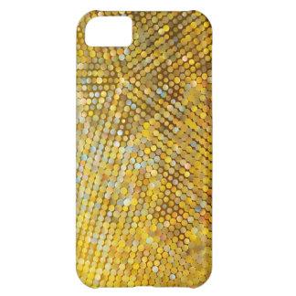 Cajas de la mota del mosaico 5 carcasa para iPhone 5C