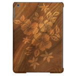 Cajas de madera hawaianas del aire del iPad del hi