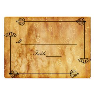 Cajas de novia y del novio, trabajo de la voluta s plantilla de tarjeta de negocio