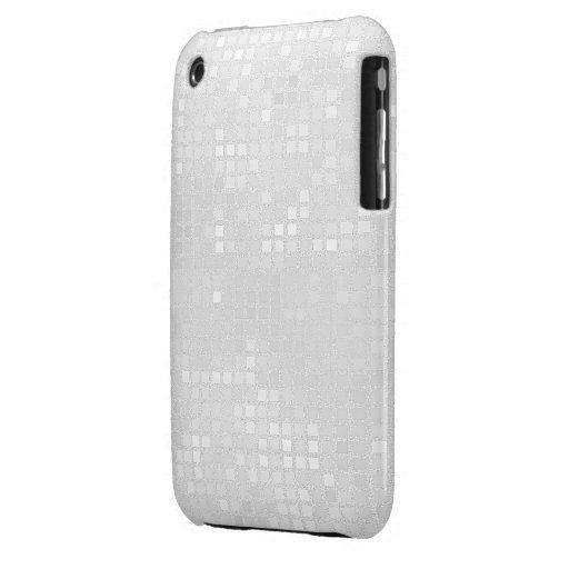 Cajas de plata del teléfono del efecto de la Case-Mate iPhone 3 coberturas