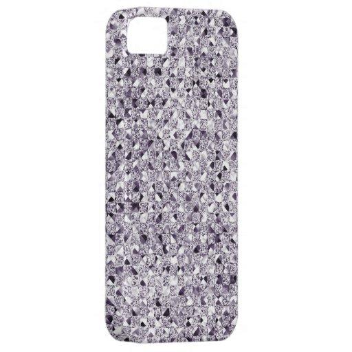 Cajas de plata del teléfono del efecto de la lente iPhone 5 carcasa