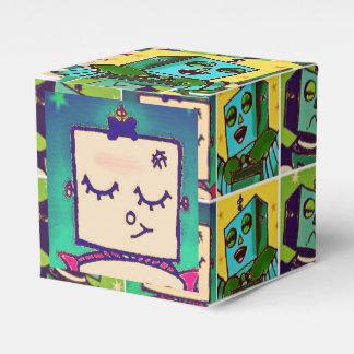 Cajas de regalo cómicas del estilo del robot cajas para regalos de boda