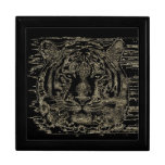 Cajas de regalo de la bella arte del tigre