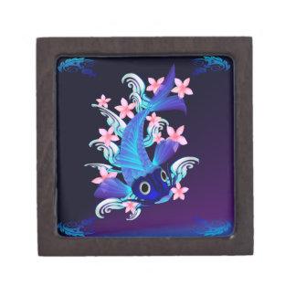 Cajas de regalo superiores de las flores Koi-Rosad Cajas De Recuerdo De Calidad