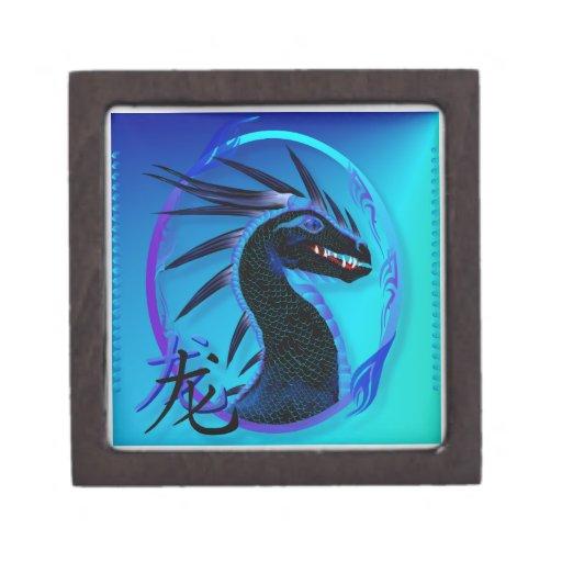 cajas de regalo superiores del dragón negro 2012-H Caja De Regalo De Calidad