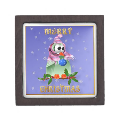 Cajas de regalo superiores del pájaro de la decora cajas de recuerdo de calidad