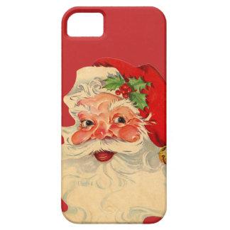 Cajas de Santa iPhone5 del vintage iPhone 5 Case-Mate Protectores