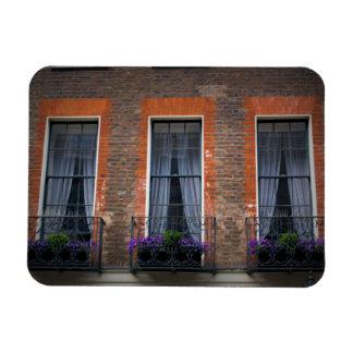 Cajas de ventana de la lavanda de Londres de la Imán Flexible