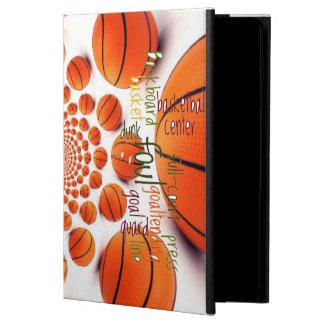 Cajas del aire del iPpad del baloncesto