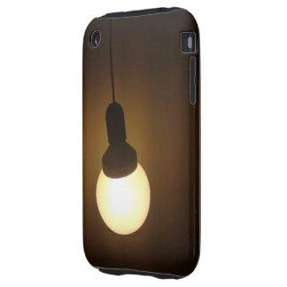 Cajas del bulbo de CFL iPhone 3 Tough Fundas