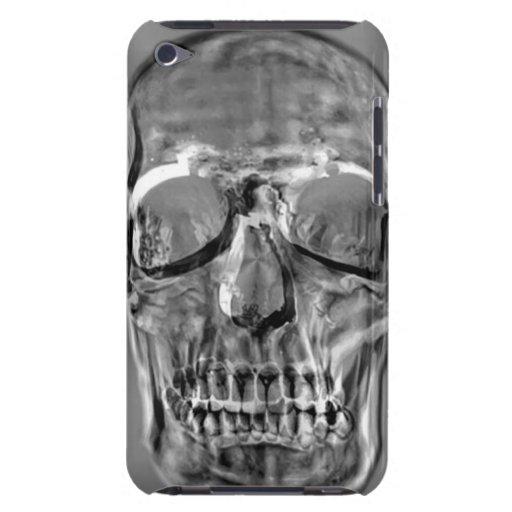Cajas del cráneo del metal iPod Case-Mate cobertura