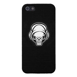 cajas del cráneo-IPhone 5 del techno, iPhone 5 Funda
