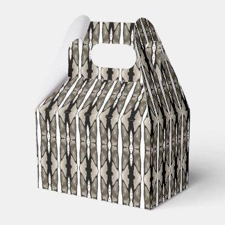 Cajas del favor de fiesta del pellizco y del cajas para regalos de boda