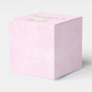 Cajas del favor de fiesta del rosa del carro del cajas para detalles de boda