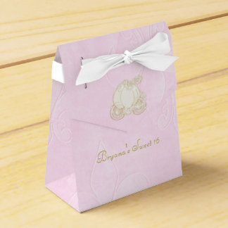 Cajas del favor de fiesta del rosa del carro del cajas para regalos