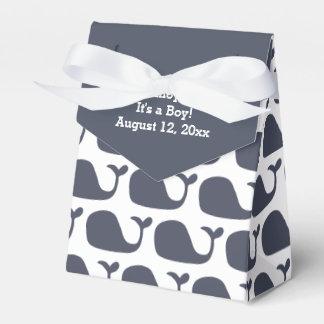 Cajas del favor de la fiesta de bienvenida al bebé paquetes de regalo