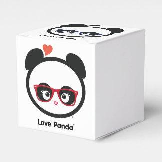 Cajas del favor de Panda® del amor Cajas Para Regalos De Boda