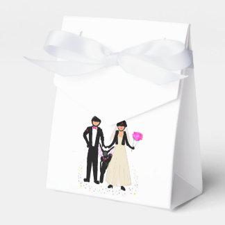 Cajas del favor del boda del motorista cajas para regalos
