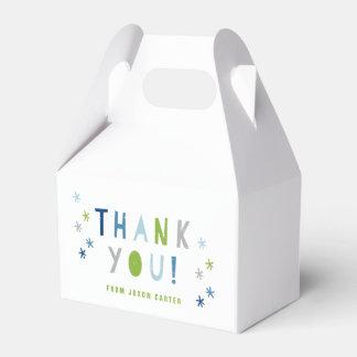 Cajas del favor del golpe del confeti cajas para regalos de boda