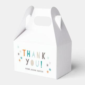 Cajas del favor del golpe del confeti cajas para regalos de fiestas