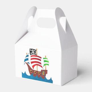 ¡Cajas del favor del pirata! Cajas Para Regalos De Boda