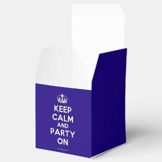 Cajas del favor paquete de regalo para fiestas