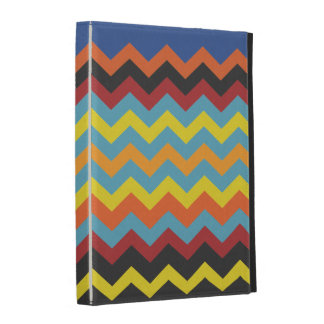 Cajas del folio del iPad de Chevron Caseable del a