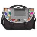 Cajas del gris del vitral bolsas para ordenador