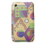 Cajas del teléfono de la bella arte del art déco iPhone 3 Case-Mate funda