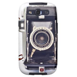 Cajas del teléfono de la cámara del vintage galaxy s3 fundas