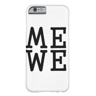 Cajas del teléfono de la imagen de espejo funda barely there iPhone 6