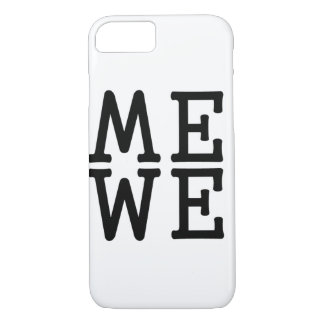 Cajas del teléfono de la imagen de espejo funda iPhone 7