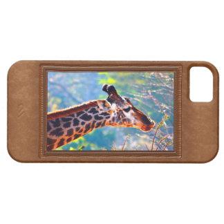 Cajas del teléfono de la jirafa para el iPhone 5S iPhone 5 Case-Mate Carcasa