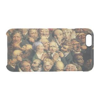 Cajas del teléfono de las expresiones de Daumier