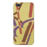 Cajas del teléfono del arte abstracto del art déco iPhone 5 coberturas