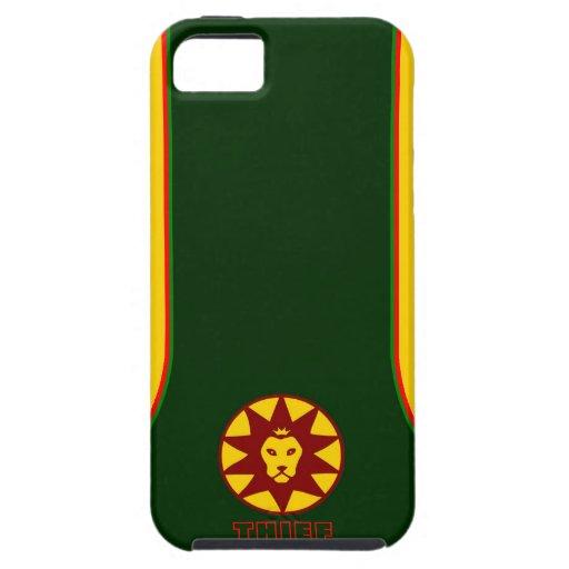 """cajas del teléfono del ladrón """"el zion """" funda para iPhone SE/5/5s"""