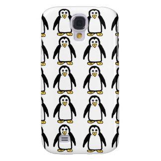 Cajas del teléfono del modelo del pingüino carcasa para galaxy s4