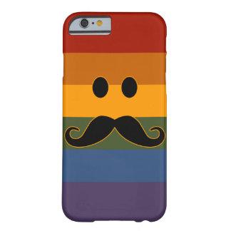 Cajas del teléfono del orgullo del bigote funda barely there iPhone 6