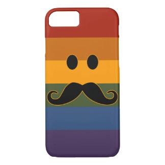 Cajas del teléfono del orgullo del bigote funda iPhone 7