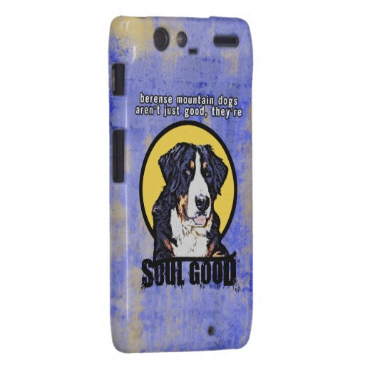Cajas del teléfono del perro de montaña de Bernese Motorola Droid RAZR Carcasas