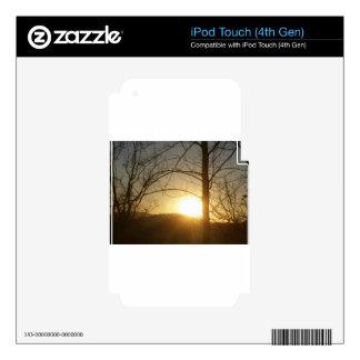 Cajas del teléfono iPod touch 4G calcomanía