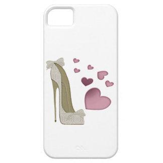 Cajas electrónicas del estilete y de los corazones iPhone 5 carcasa