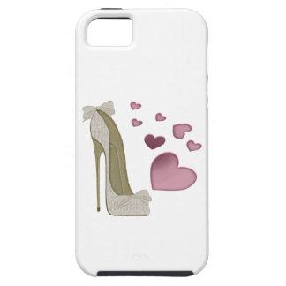 Cajas electrónicas del estilete y de los corazones iPhone 5 fundas